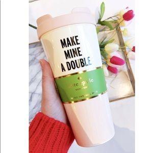 NWT Kate Spade Thermal 16oz Mug